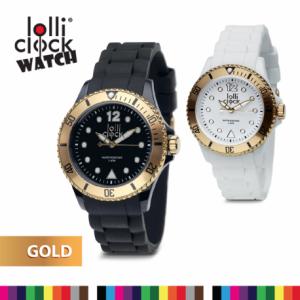 70198 LOLLICLOCK WATCH GOLD