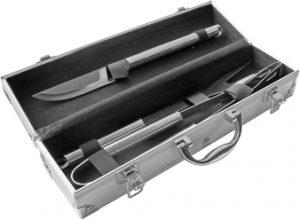 T74 SET PARA ASADO METAL BOX